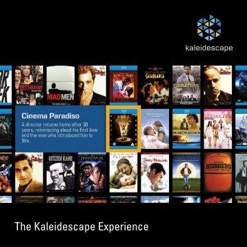 Kaleidescape Brochure - Projekt Akustik