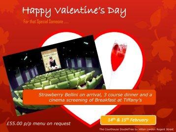 Happy Valentine's Day - Fluid London