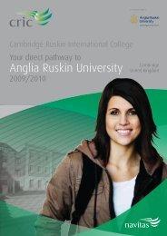 Anglia Ruskin University - Navitas