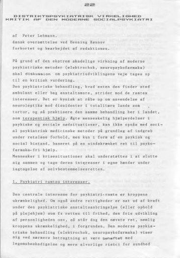 af Peter Lehmann. dansk oversattelse ved Henning Ronnov forkortet ...