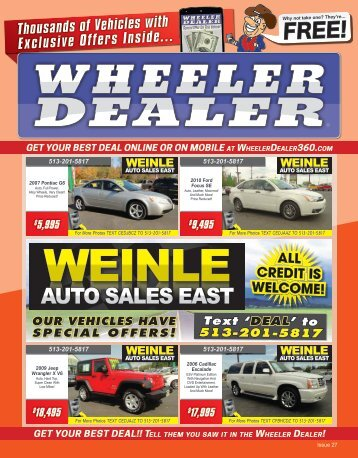 Wheeler Dealer 27-2015