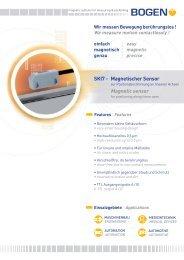 SKI7 - Magnetischer Sensor Magnetic sensor - Bogen Electronic