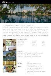 Download Executive Retreats Brochure (PDF) - Alila Hotels and ...