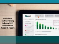 Global Dot Matrix Printing Industry: Key Oppotunities and Trends