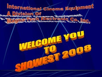 Company Presentation for Showest 2008 in PDF Format - Iceco.com