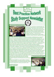 Best Practice Network Study Support Newsletter - Issue 2 - Spring ...
