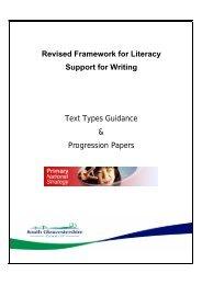 Text Types Progression Booklet