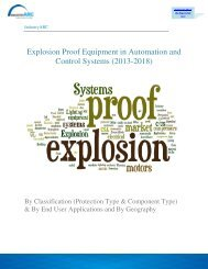 Explosion Proof Equipment in Automation and Control Systems (2013-2018)