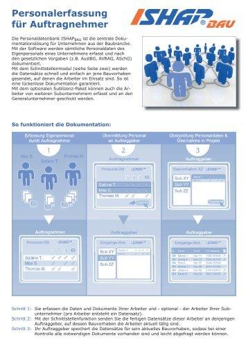 Personalerfassung für Auftragnehmer