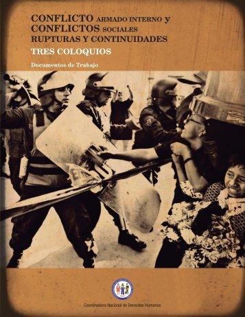 conflictos sociales - Coordinadora Nacional de Derechos Humanos ...