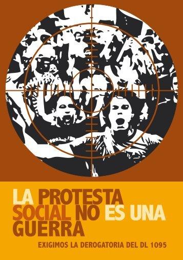 Volante: la protesta social no es una guerra