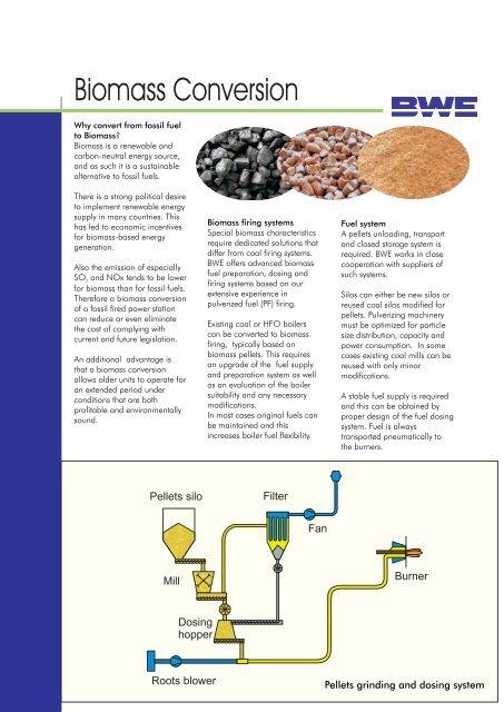 Biomass Conversion Burmeister Wain Energy A S
