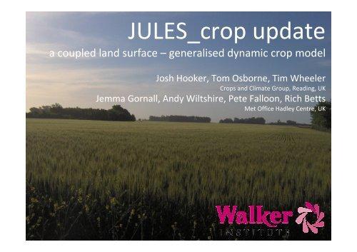 JULES-crop