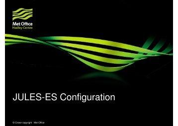 JULES-ES Configuration