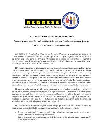 Requisitos y Solicitud de Inscripción - Coordinadora Nacional de ...