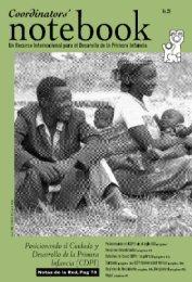 Posicionando el cuidado y desarrollo de la primera infancia - OEI