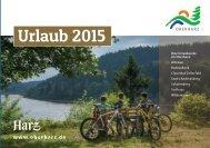Urlaubsmagazin Oberharz 2015