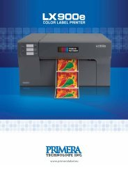Primera's Label Accessory Products - easyFairs