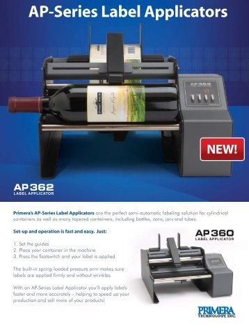 AP-Series Label Applicators - Logi label