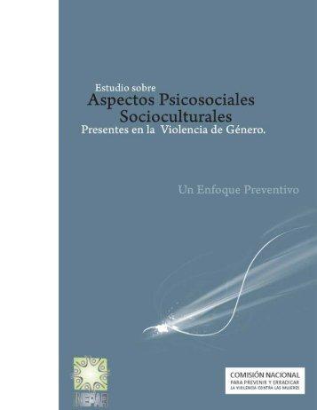 Aspectos psicosociales - CONAVIM