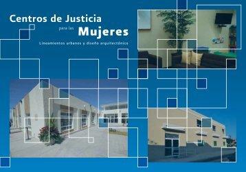 Centros de Justicia para las Mujeres. Lineamientos ... - CONAVIM