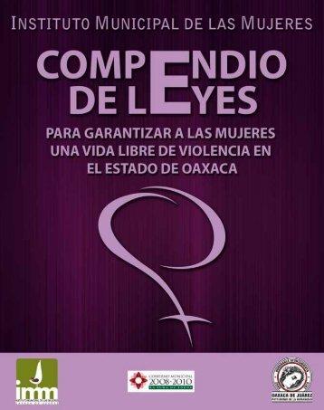 Compendio de Leyes para Garantizar a las Mujeres una ... - CONAVIM