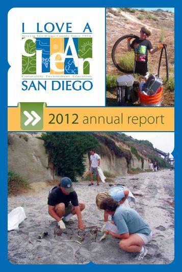 2012 annual report - I Love a Clean San Diego