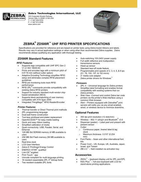 Zebra Printer Font Size