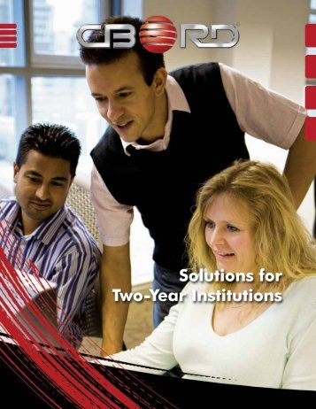 Two-Year Institutions brochure (607 Kb PDF) - CBORD Solutions for ...