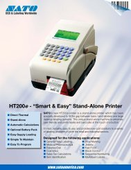 "HT200e - ""Smart & Easy"" Stand-Alone Printer - Mobile ID Solutions"