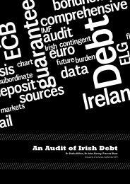 An Audit of Irish Debt - Debt and Development Coalition Ireland