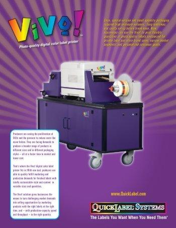 Vivo Flyer - Logi label