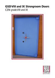 GSD VIII and IX Strongroom Doors - SMP
