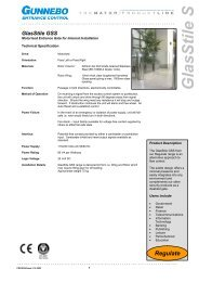 PDS GlasStile GSS issue 5 10-2003