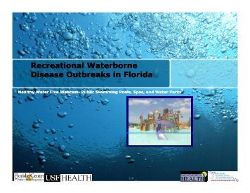 Recreational Waterborne Disease Outbreaks in Florida