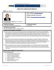 PA_ProfileG_Petroni 12-19-11.pdf - Office of Public Health Practice