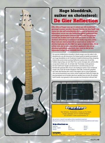 De Gier Reflection - De Gier Guitars & Basses