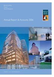 Annual Report & Accounts 2006 - Anglo Irish Bank