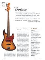 De Gier Guitars & Basses