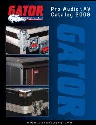 Pro Audio AV Catalog 2009 - MusiCo