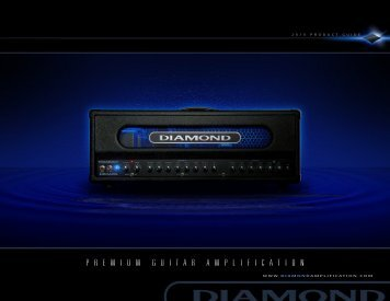 2010 Product Guide - Diamond Amplification