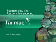 Sustainability and Responsible sourcing - Concrete Block Association