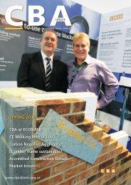 Latest CBA Newsletter - Concrete Block Association