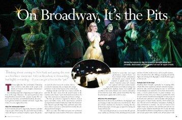 Broadway - dianne spoto ackerman
