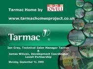 Tarmac Home Presentation - Concrete Block Association