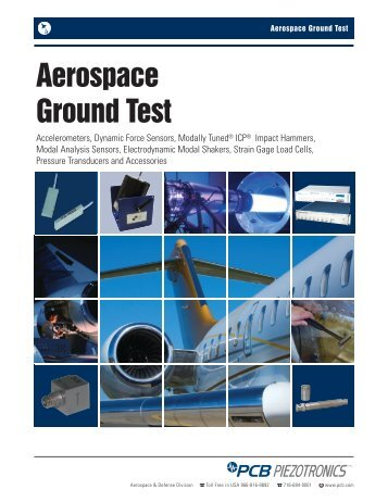 Aerospace Ground Test - PCB Piezotronics