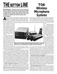 TOA Wireless/Quark 2 (Page 1) - Tom Mulhern & Associates