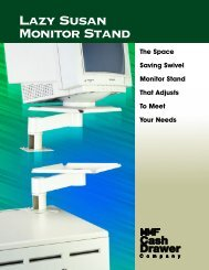 Lazy Susan Monitor Stand - Mobile ID Solutions