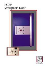 RSD V Strongroom Door - SMP