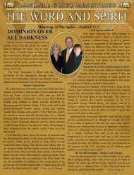 January 2010 Newsletter - Randall Grier Ministries